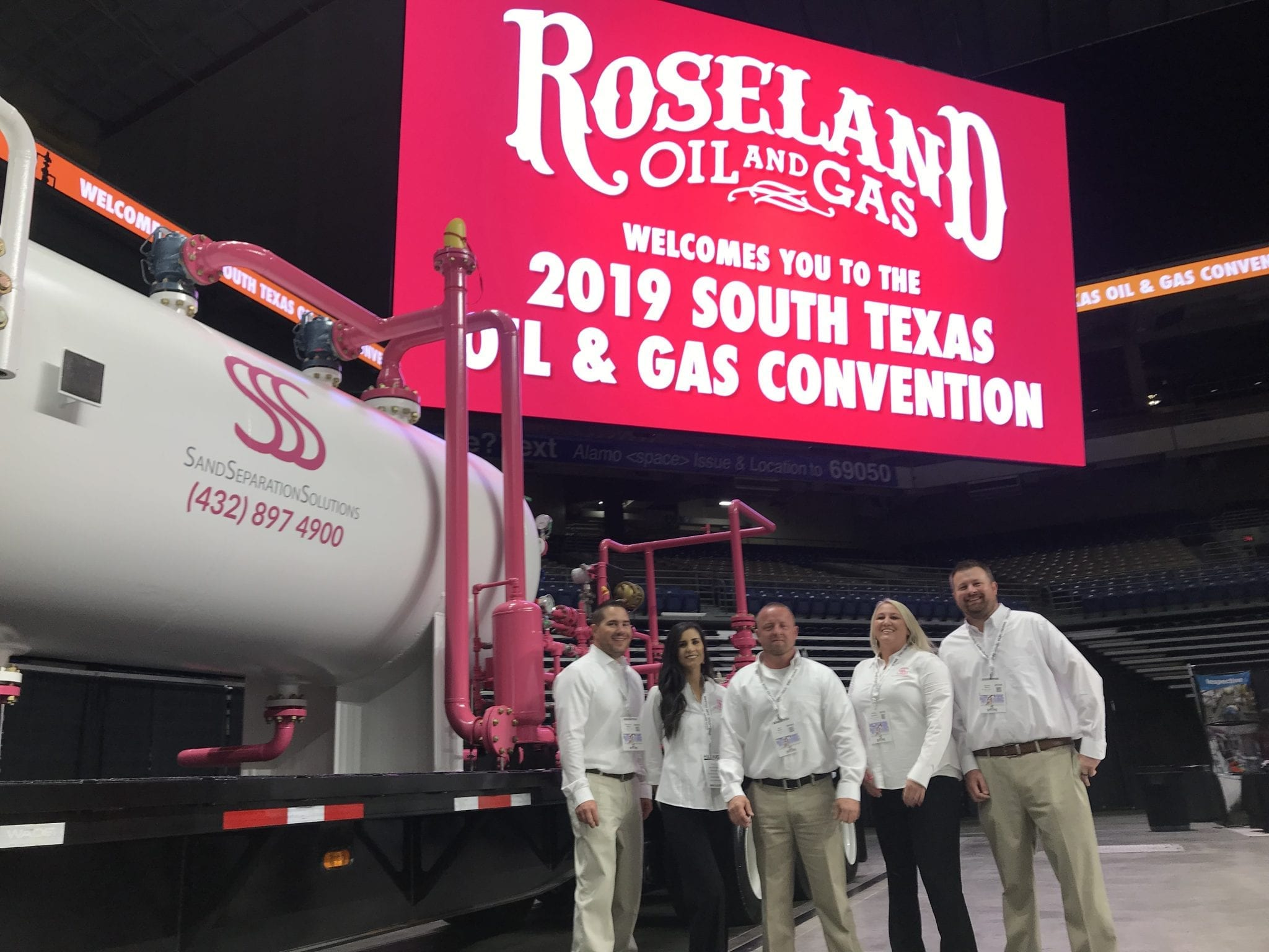 roseland oil and gas team photo